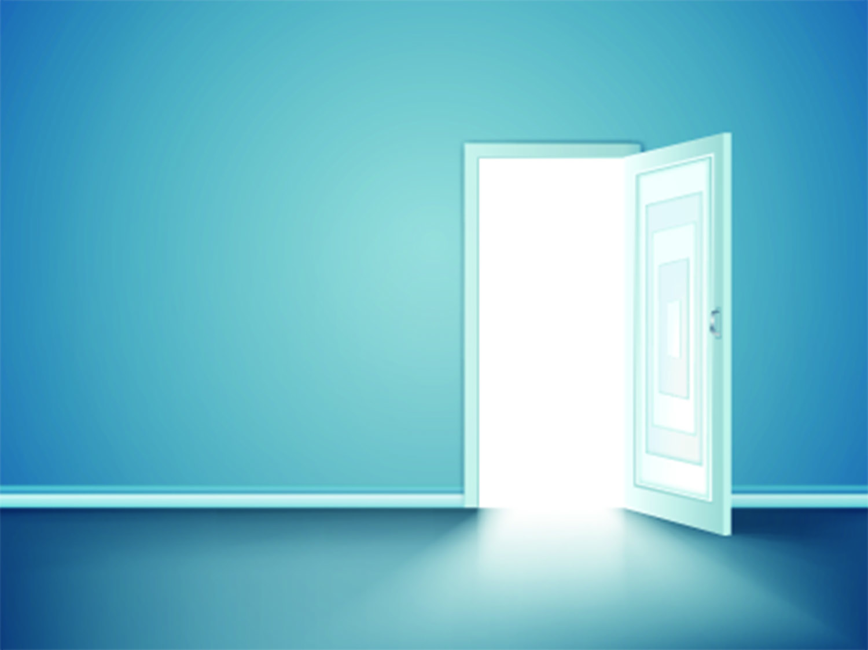 Shutter_Offene Tür